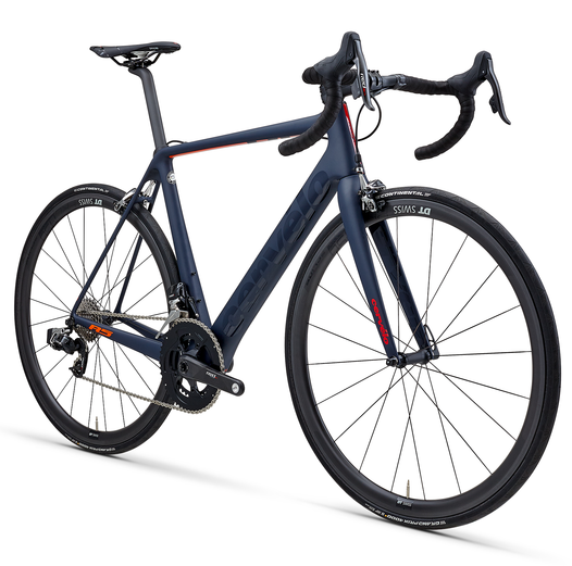 Cervelo R5 Sram Red eTap (2019) navy/orange