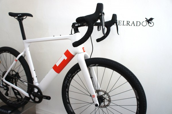3T Exploro Team white Sram Rival 1x11