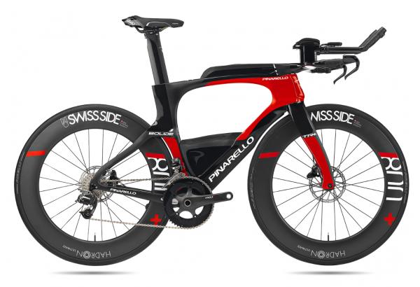 Pinarello Bolide TR+ Rahmenset Triathlon (2020) Color: 829 CARBON RED