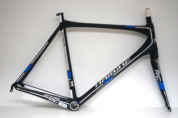 Haibike Affair RC carbon-matt/teamblue Rennrad Rahmenset (MY13) nur 62cm