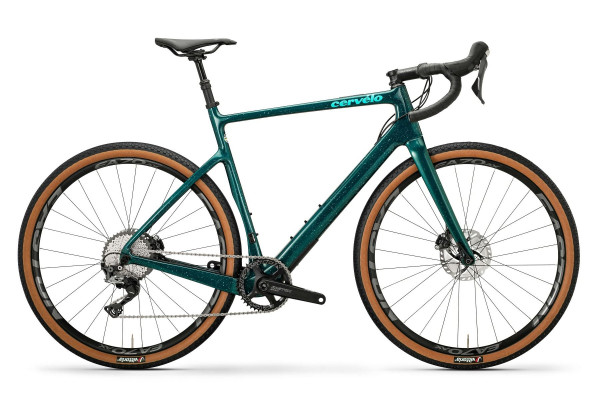 Cervelo Áspero Disc Shimano GRX 1x11 (2020) dark teal/light teal