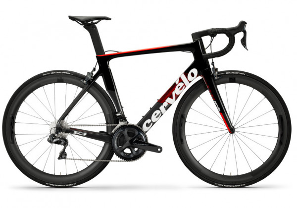 Cervelo S3 Ultegra Di2 8050 (2019) grahite/red