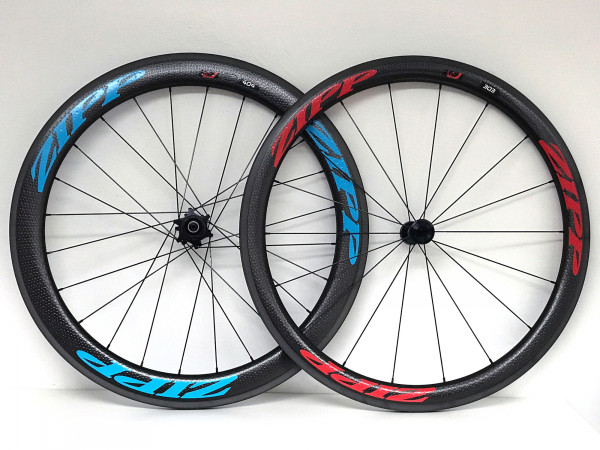 Zipp 303 / 404 Firecrest Carbon Clincher red/blue 2017/2018