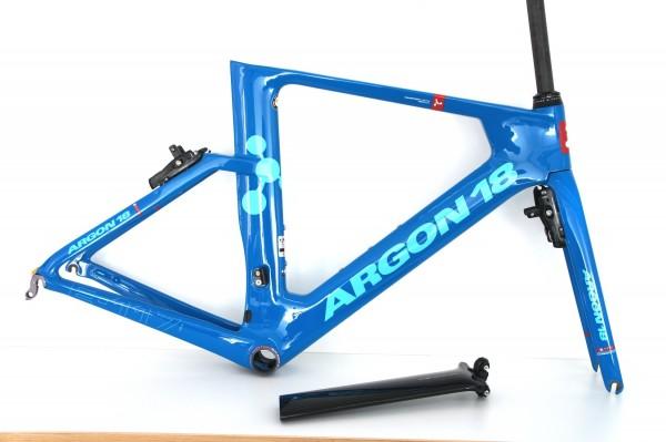 Argon 18 E117 TRI 2018 blau Rahmenset