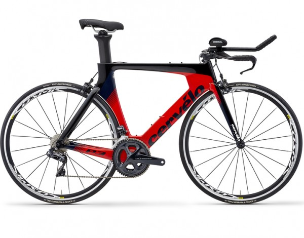 Cervelo P3 2019 Ultegra Di2 red/black