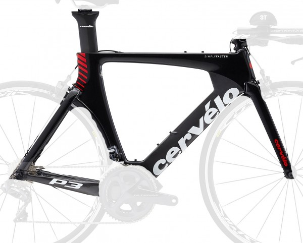 Cervelo P3 2018 Rahmenset red/black