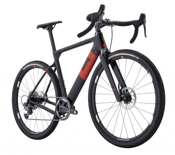 3T Exploro Team Force Carbon schwarz/rot