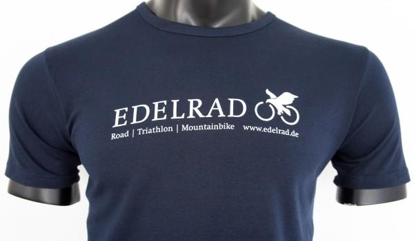 EDELRAD T-Shirt Herren - navy