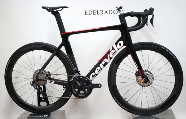 Cervelo S3 DISC ULTEGRA DI2 8070 2019 GRAPHITE/RED