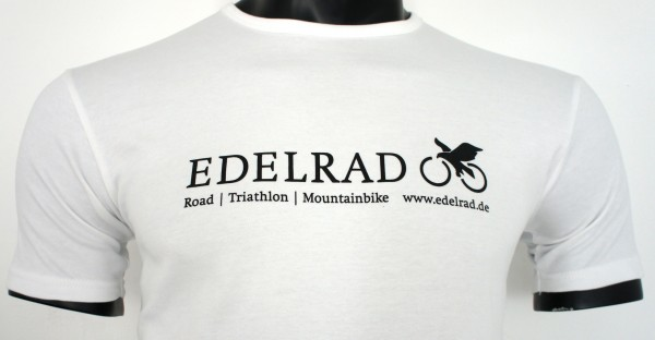 EDELRAD T-Shirt Herren - weiss