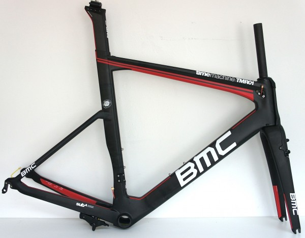 BMC TimeMachine Road TMR01 Rahmenset Team Red (MY15) rim-brake