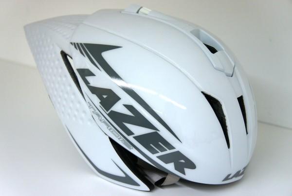 Lazer Triathlon Helm Tardiz - weiss