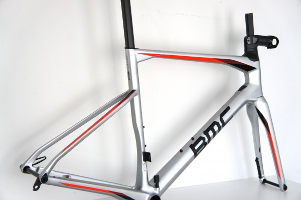 BMC RM01 Roadmachine 01 Rahmenset chrome-black-red