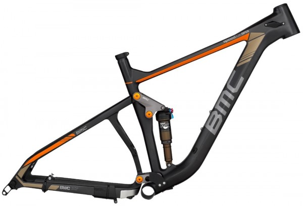 BMC SpeedFox 01 SF01 Rahmenset 2015