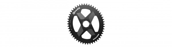 ROTOR Ovales 1x DM Direct Mount Kettenblatt 42Z für 2INpower DM/ INpower DM/ ALDHU/ VEGAST schwarz