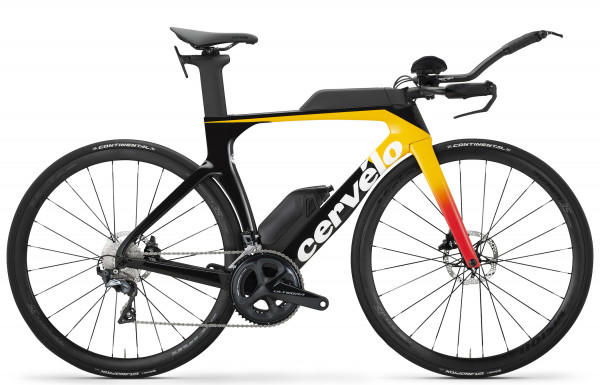 Cervelo P-Series ULTEGRA Disc orange (2020) P3
