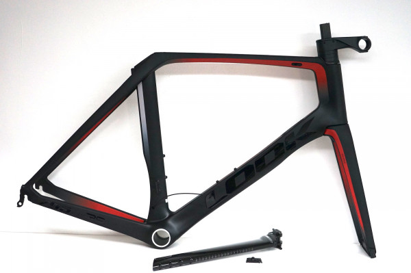 LOOK 795 Blade RS Rahmenset black/red glossy/matte (2020) Felgenbremse
