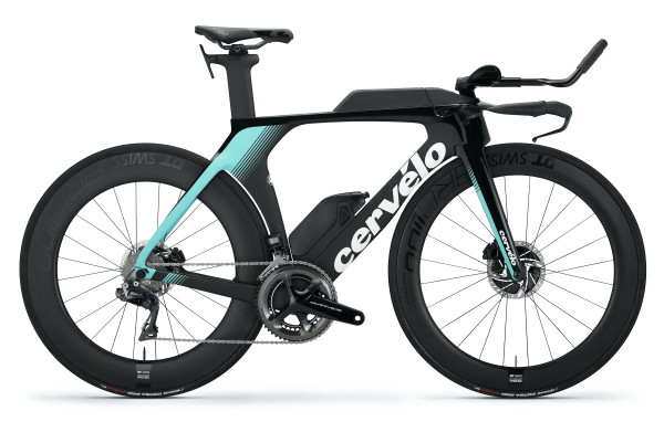 Cervelo P5 Disc DuraAce Di2  / Dt Swiss ARC1100 (2020) teal