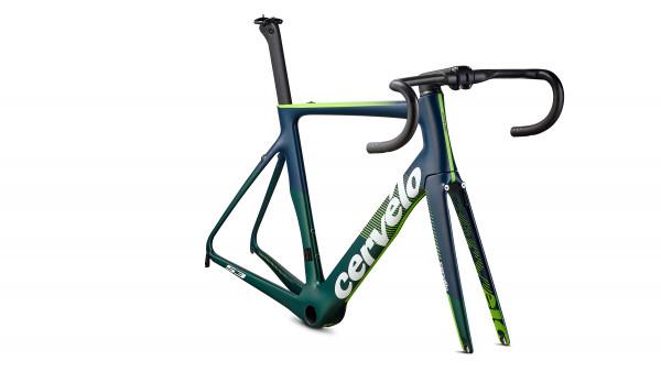 Cervelo S3 Rim-Brake (2019) Rahmenset LTD emerald/navy/green
