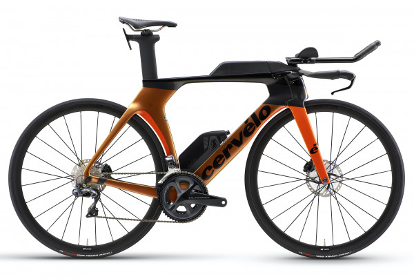 Cervelo P5 Disc Ultegra Di2 (2020) Orange Chameleon