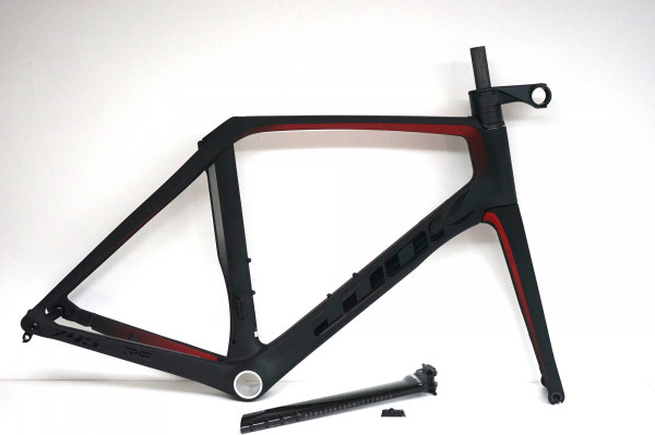 LOOK 795 Blade RS Disc Rahmenset black/red matte/glossy (2020) Scheibenbremse