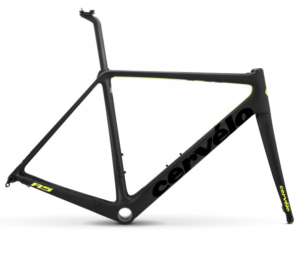 Cervelo R5 Disc Rahmenset 2018 black/fluoro - nur in 48cm
