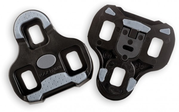 Look Keo Grip Pedalplatte schwarz 0°