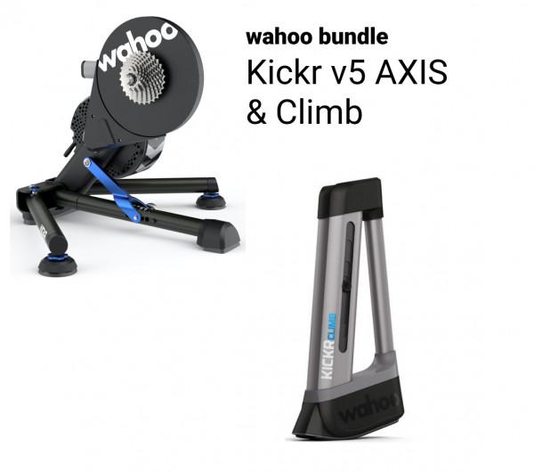 Wahoo KICKR v5 Bundle + CLIMB (2021)