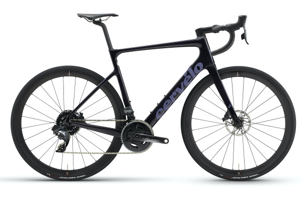 Cervelo Caledonia-5 Force eTap AXS 2x12 (2021) Purple / Carbon