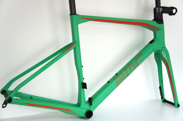 BMC RM01 Roadmachine 01 Rahmenset candy green (2018)