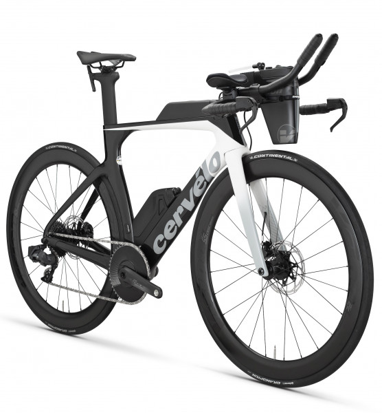 Cervelo P-Series Sram Force AXS 1x12 Disc white/black (2020) P3