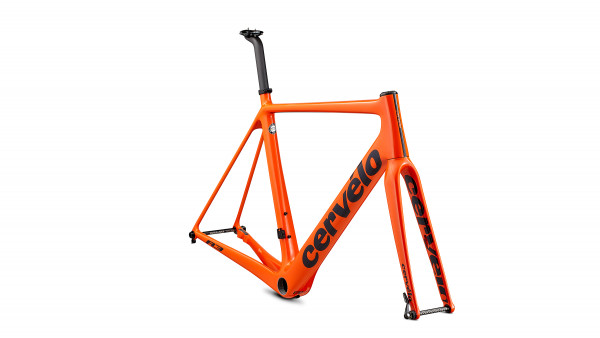 Cervelo R3 Disc Rahmenset 2020 orange/navy