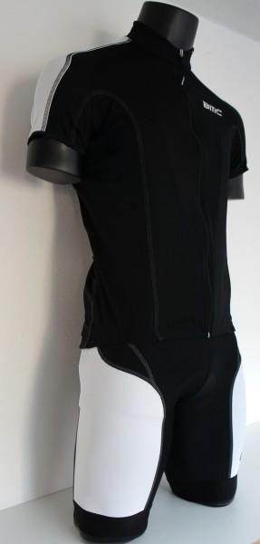 BMC Road Performance - Teambekleidung Trikot+Hose schwarz/weiss - Größe SMALL