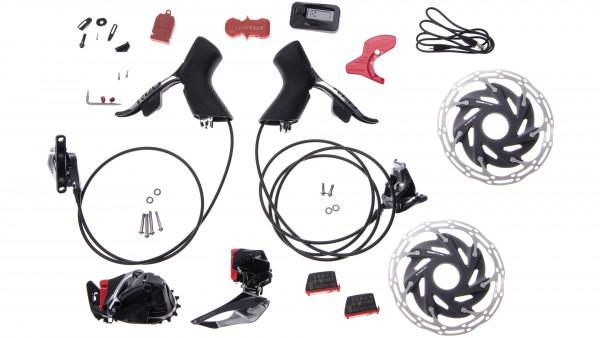 Sram Red eTap AXS HRD 2x12 FlatMount Centerlock