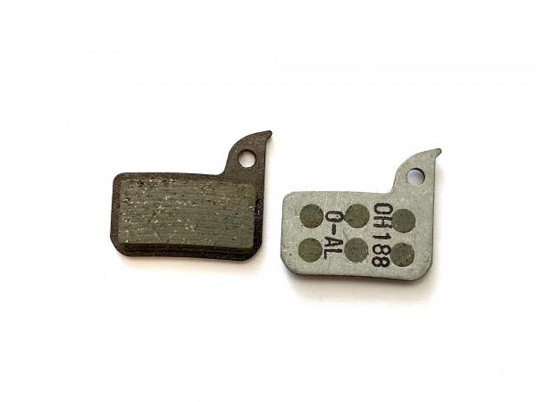 Sram Bremsbeläge Scheibenbremse organisch / Aluminium (1 Paar)