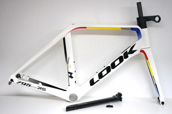 LOOK 795 Blade RS Disc Rahmenset pro-team white (2020) Scheibenbremse