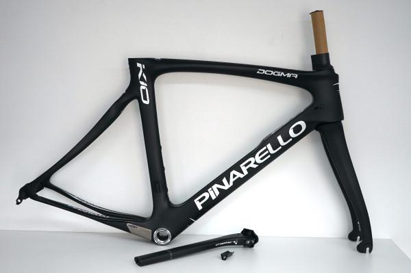 Pinarello Dogma K10 Rahmenset black/white für Felgenbremse