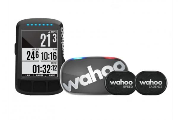 Wahoo ELEMNT BOLT GPS FAHRRADCOMPUTER SET (Bundle) mit TICKR 2