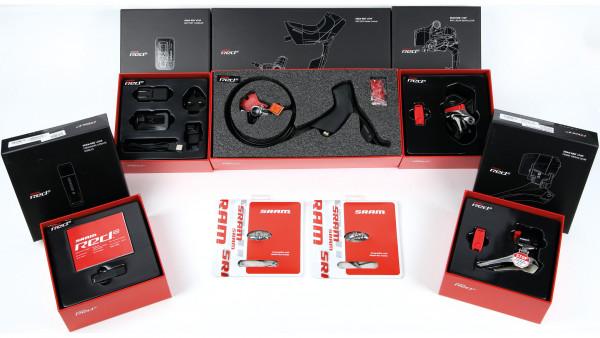 Sram eTap HRD WiFLi Disc für PostMount Standard (langes Schaltwerk) - Upgrade-Kit