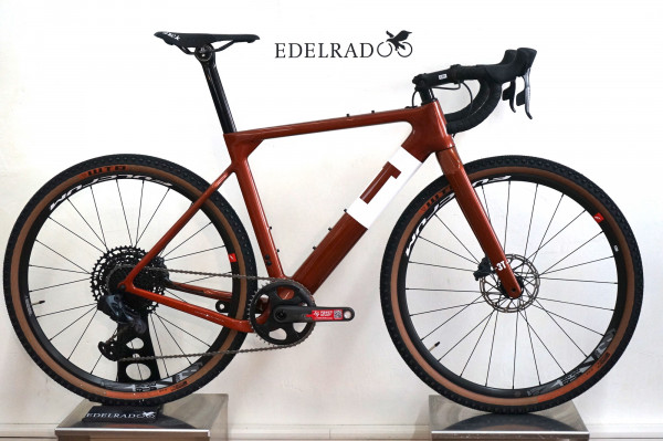 3T Exploro Team Force/Eagle eTap AXS 1x12 brown/white