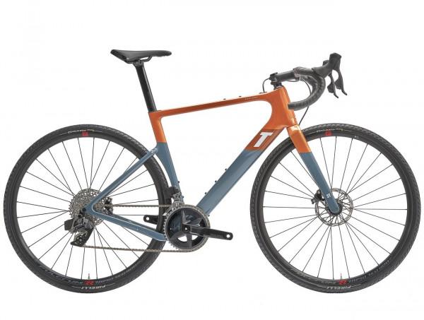 3T Exploro Race Sram Rival AXS 2x12 (2022) - RACE MAX orange/grey