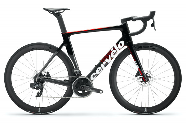 Cervelo S3 Disc Sram Force 2x12 2020 GRAPHITE/RED