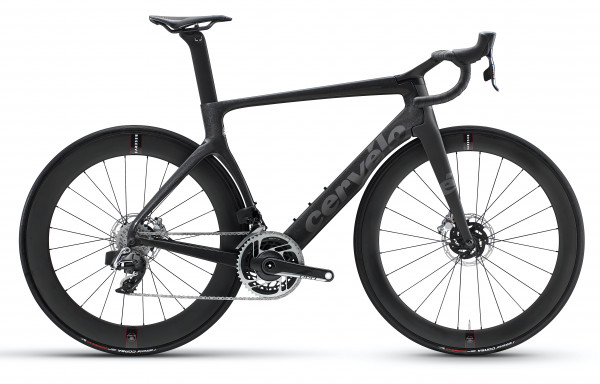 Cervelo S5 Disc Sram Red AXS 2x12 inkl. Powermeter (2021) carbon-metallic