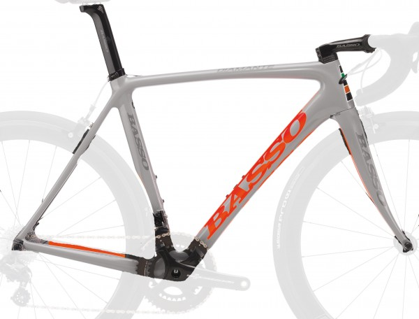 BASSO Diamante grey fluo orange