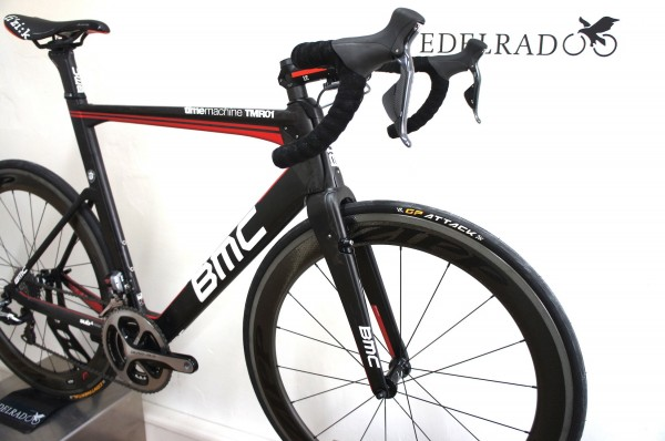 BMC TimeMachine Road TMR01 DuraAce Di2 m Zipp 404 Carbon Clincher